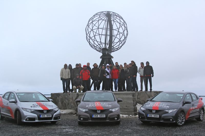 Honda Ekspedicija LT Nord Kapp