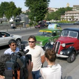 Georgia TV interview
